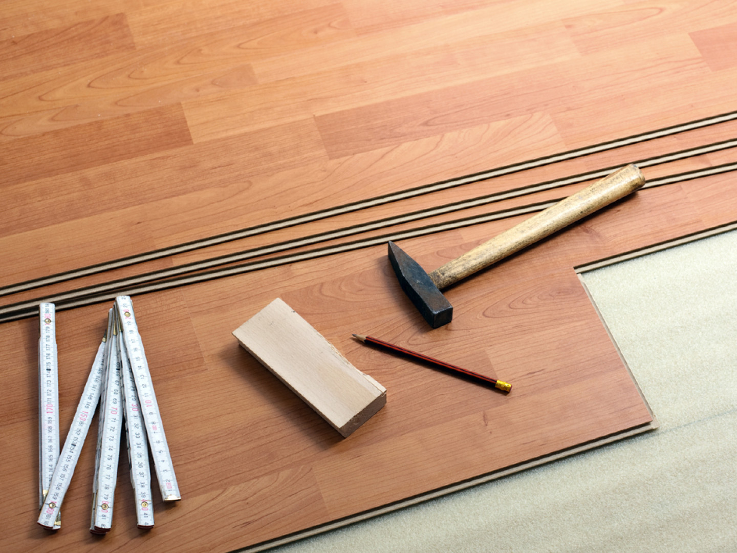 Thinking about installing tile or laminate flooring?